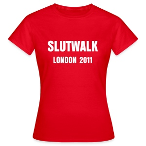 Slutwalk London 2011 Women's T-Shirt - Women's T-Shirt
