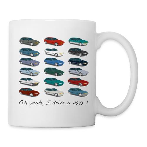 Mug - Colors of 480 - Mug blanc