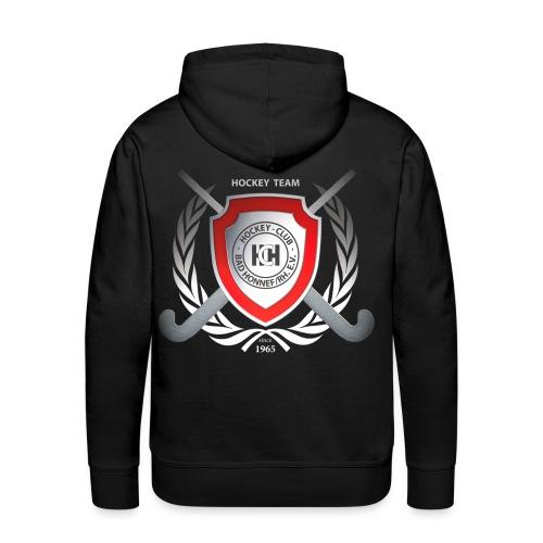 Hoddie mit Wappen + Nummer - Männer Premium Hoodie