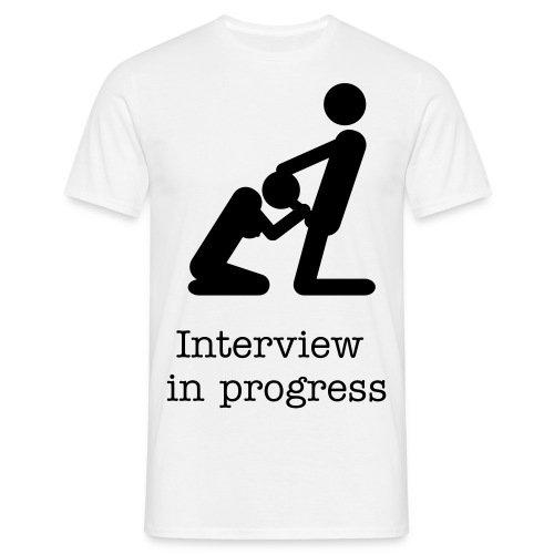 interview - Men's T-Shirt