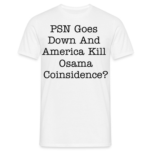 PSN killed Osama - Men's T-Shirt