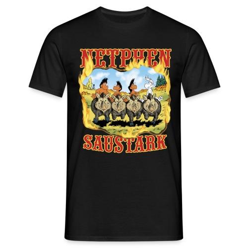 Netphen - Saustark - Männer T-Shirt