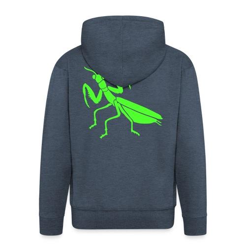 Shirt gottesanbeterin mantis praying insekt fangschrecke tiershirt shirt tiermotiv - Männer Premium Kapuzenjacke
