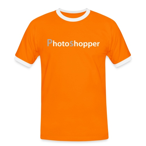 Photoshopper - Männer Kontrast-T-Shirt