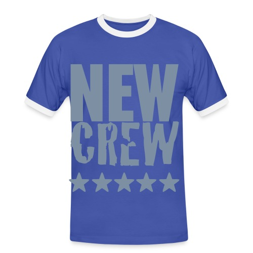 Mens New Crew Tee - Men's Ringer Shirt