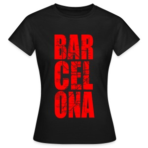 BARCELONA RED - Women's T-Shirt