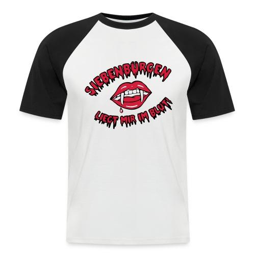Siebenbürgen - liegt mir im Blut - Männer Baseball-T-Shirt