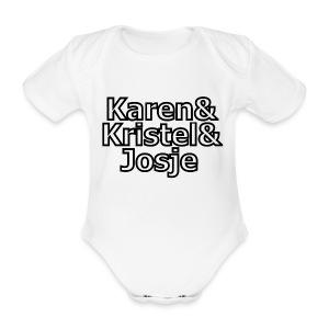 K3 - Baby bio-rompertje met korte mouwen