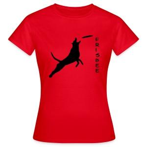 Frauen T-Shirt - Agility weltmeister,Border Collie,Dog Dancing,Flyball,Hund,Hunde Shirts,Jaeger,Longieren,Loyal Canin,Obedience,Outfit,Rassehund,Retriever,Rettungshund,Royal,T-Shirt,Team-Test,aus,chien,dog,platz,sitz,spread shirt,steh,vorstehen