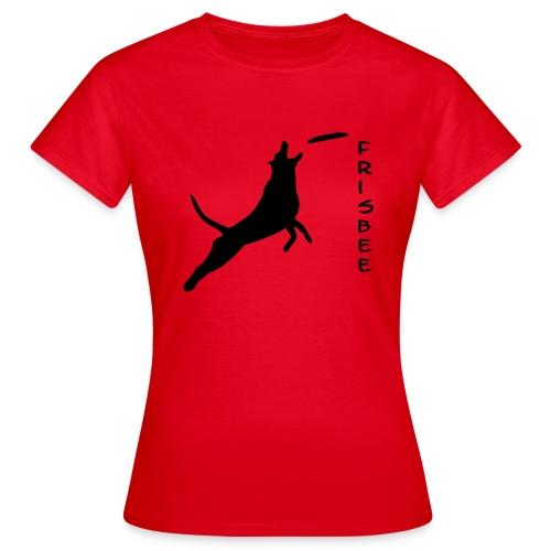 Frauen T-Shirt - vorstehen,steh,spread shirt,sitz,platz,dog,chien,aus,Team-Test,T-Shirt,Royal,Rettungshund,Retriever,Rassehund,Outfit,Obedience,Loyal Canin,Longieren,Jaeger,Hunde Shirts,Hund,Flyball,Dog Dancing,Border Collie,Agility weltmeister