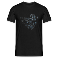 T-Shirts ~ Men's T-Shirt ~ DooM map
