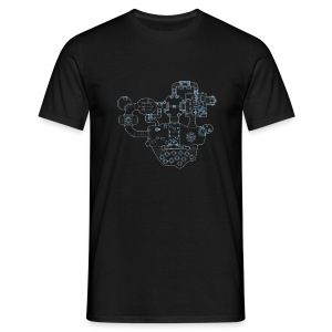 DooM map - Men's T-Shirt