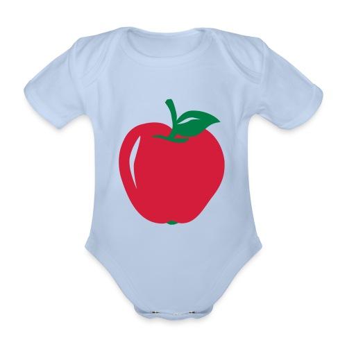 Body bébé pomme - Body bébé bio manches courtes