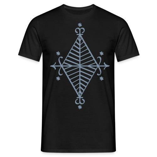 Ayizan T-Shirt Silberflex - Männer T-Shirt