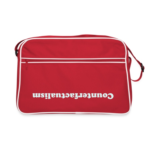 Tasche Counterfactualism, reflektierend - Retro Bag