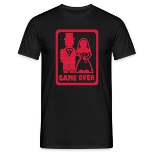Matrimonio? Game over - Maglietta da uomo