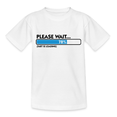 Fart Is Loading (dd)++ T-shirt bambini