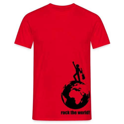 ROCK THE WORLD - Männer T-Shirt