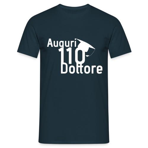 Auguri Dottore Voto 110 - Maglietta da uomo