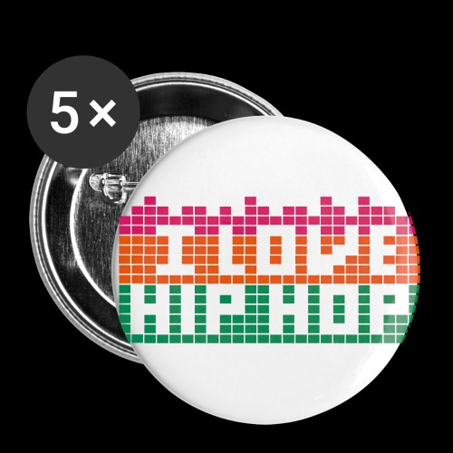 I LOVE HIP HOP - Buttons large 56 mm