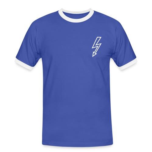 Luxury - T-shirt contrasté Homme