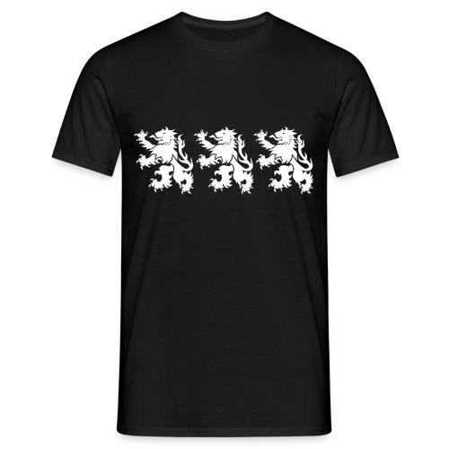 3 white lions - Men's T-Shirt