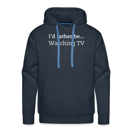 IRB Watching TV - Men's Premium Hoodie