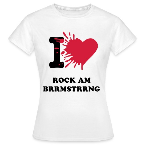 Rock am Burrmeisterring F - Frauen T-Shirt