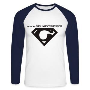 Koszulka / dlugi rękaw - LOGO - Koszulka męska bejsbolowa z długim rękawem