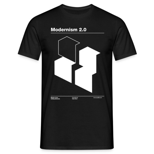 Modernism 2.0 - Men's T-Shirt