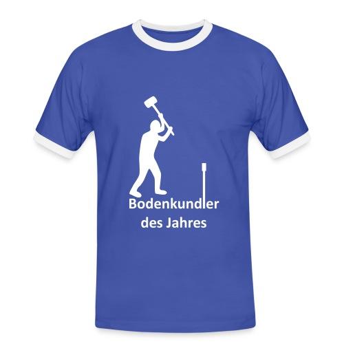 T-Shirt Bodenkundler des Jahres Kontrastshirt - Männer Kontrast-T-Shirt
