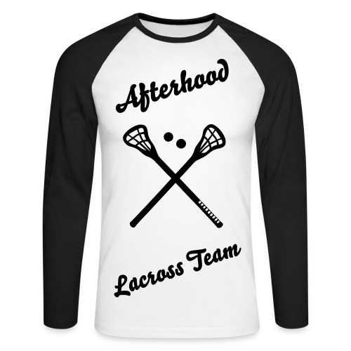 Afterhood Lacross Team - Männer Baseballshirt langarm