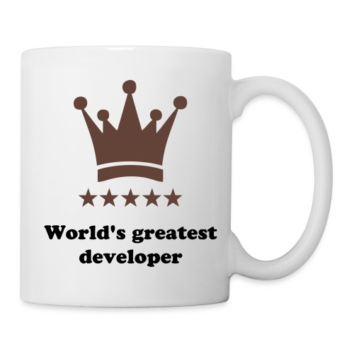 World's greatest developer coffee mug - Mug