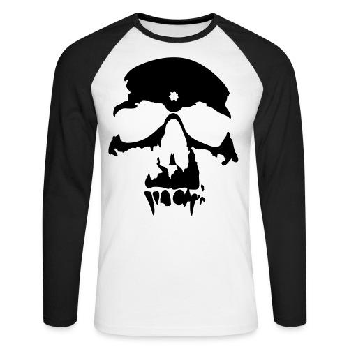 tnbm - Langermet baseball-skjorte for menn