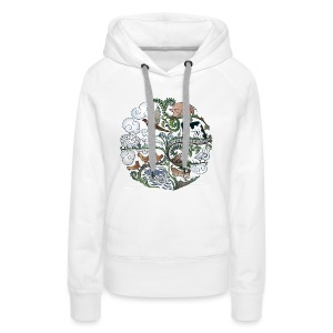Born to Roam - Women's Premium Hoodie