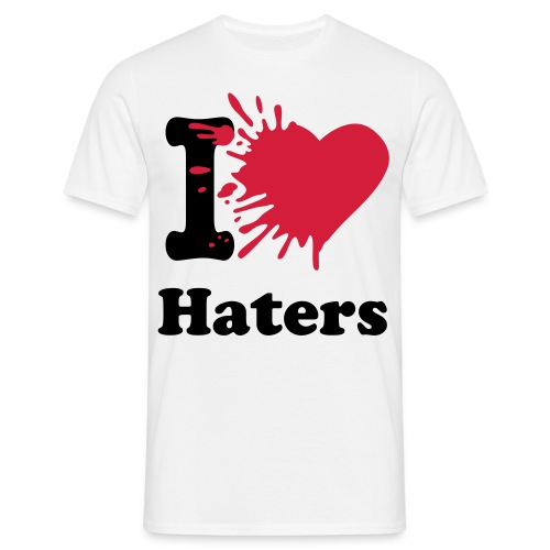 Haters  - T-shirt herr