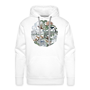 Born to Roam - Men's Premium Hoodie