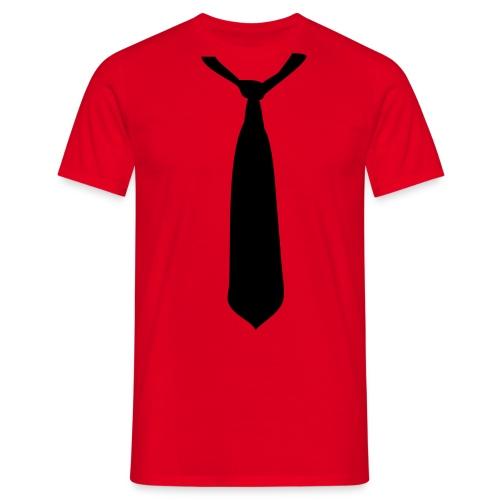Tshirt with Tie - Men's T-Shirt