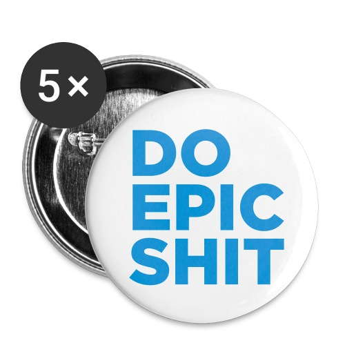 ;D - Buttons small 1''/25 mm (5-pack)