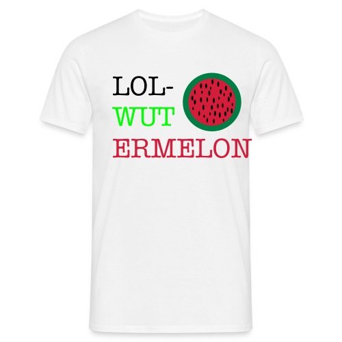 Lol-wutermelon - Men's T-Shirt