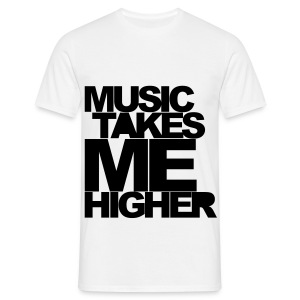 *MENS T-shirt* Music takes me.... - Men's T-Shirt