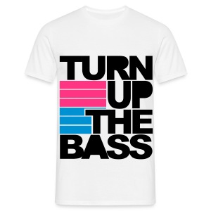 *MENS T-shirt* Turn up the bass - Men's T-Shirt