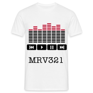 *MENS T-shirt* mrv321 with radio buttons. - Men's T-Shirt