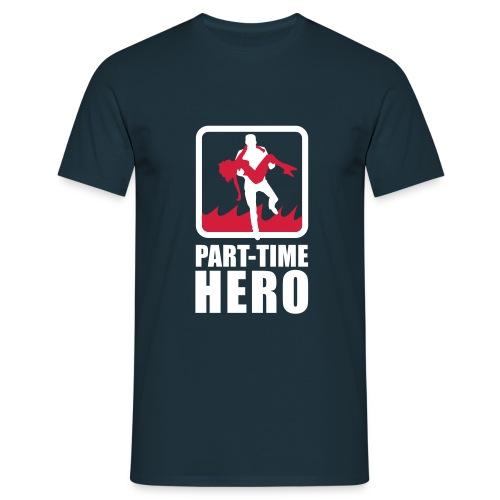 Teilzeitheld Shirt - Männer T-Shirt
