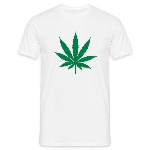 HANF WHITE - Männer T-Shirt