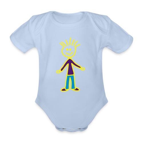 Gute Laune Baby - Baby Bio-Kurzarm-Body