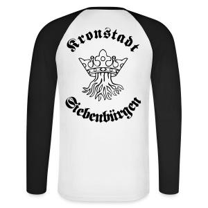 T-Shirt Kronstadt - Siebenbürgen - Transylvania, Erdely, Ardeal, Transilvania - Männer Baseballshirt langarm