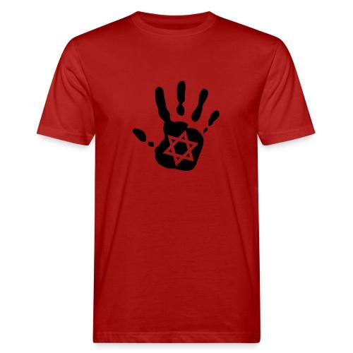 mano estrella - Camiseta ecológica hombre