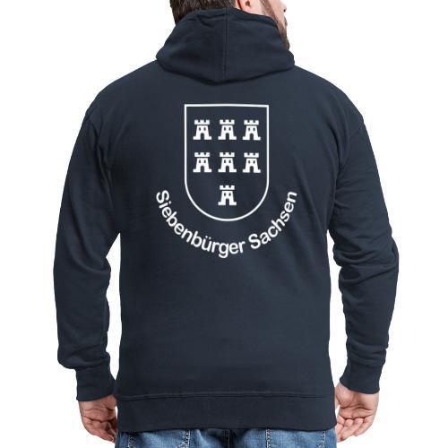 Wappen der Siebenbürger Sachsen - Transylvania, Erdely, Ardeal, Transilvania - Männer Premium Kapuzenjacke