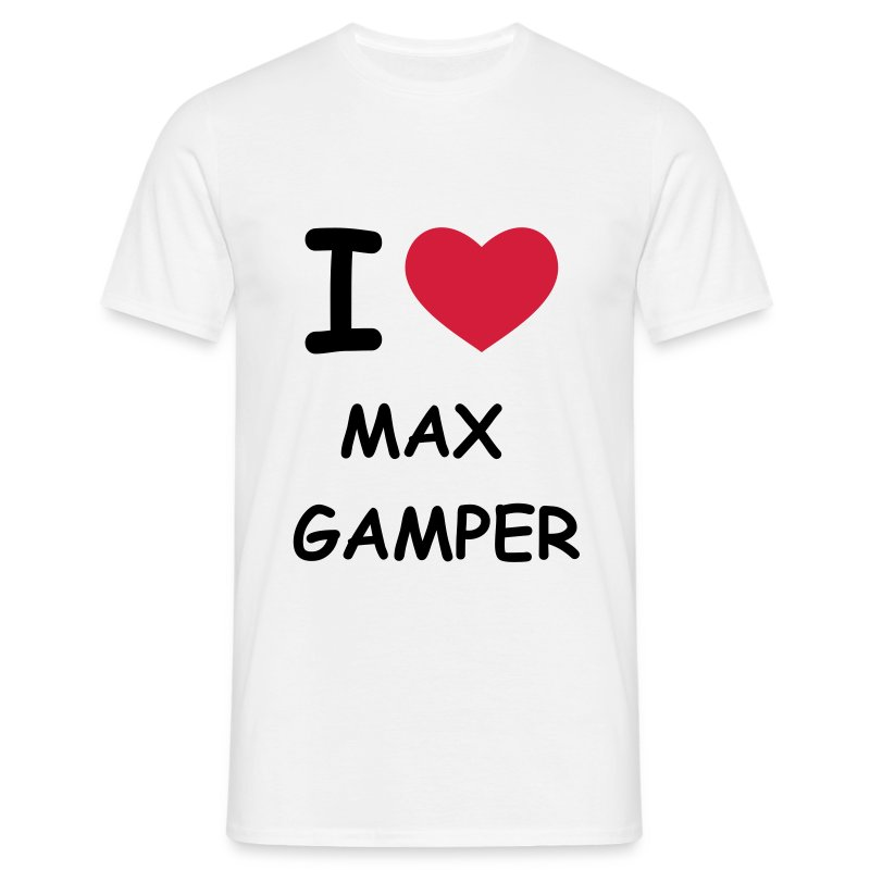 I Love / I Heart - Männer T-Shirt